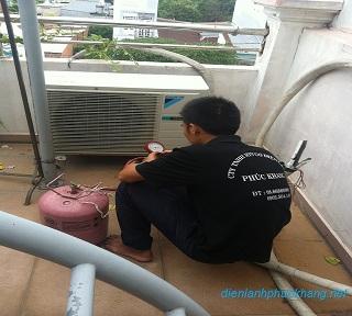 Bảng báo giá bơm gas máy lạnh quận Gò Vấp
