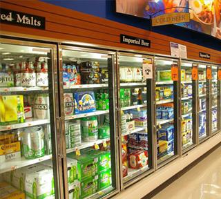 Công dụng của tủ mát trong việc trưng bày thực phẩm