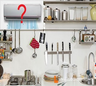 Lắp máy lạnh cho nhà bếp - Nên hay không nên? - Lợi ích và tác hại
