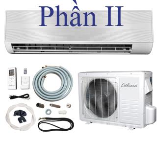 Tháo lắp máy lạnh: Các thao tác an toàn khi lắp máy lạnh (Phần II)