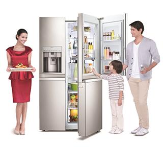 Quy trình sử dụng đúng cách tủ lạnh mới mua về