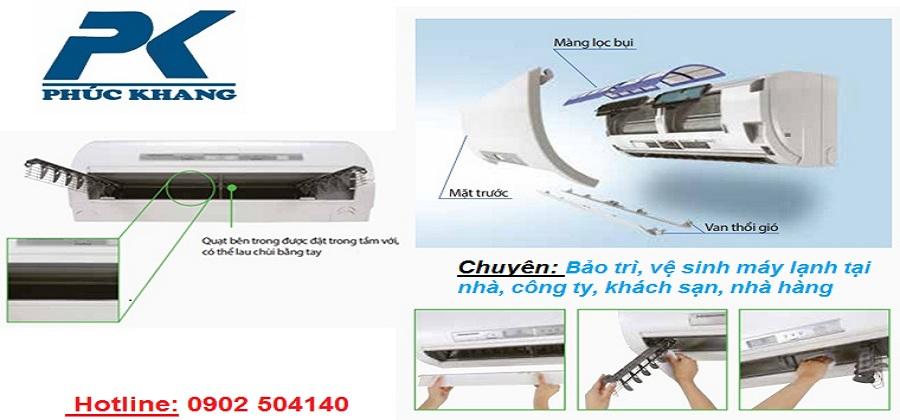 Bảo trì, vệ sinh máy lạnh chuyên nghiệp - Điện lạnh Phúc Khang