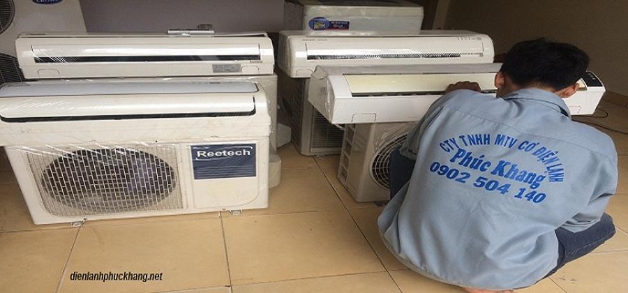 Sửa máy lạnh - Điện lạnh Phúc Khang
